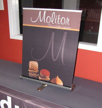 Table Top Retractable Banner Stand Kit